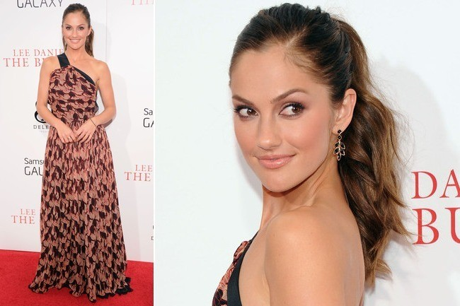 Minka Kelly's Modern Maxi-Dress
