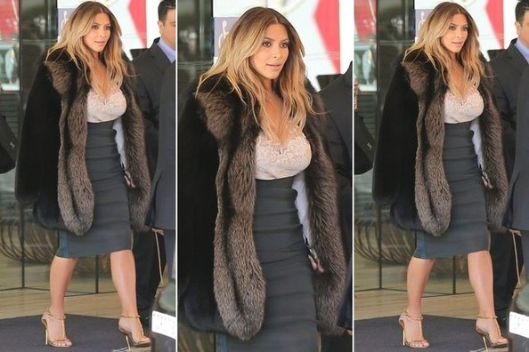 Instant Outfit Idea (Courtesy of Newly-Engaged Kim Kardashian)