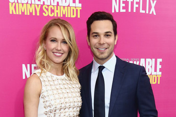'Pitch Perfect' Stars Anna Camp and Skylar Astin Have an Aca-Awesome Joint Bachelor/Bachelorette Party