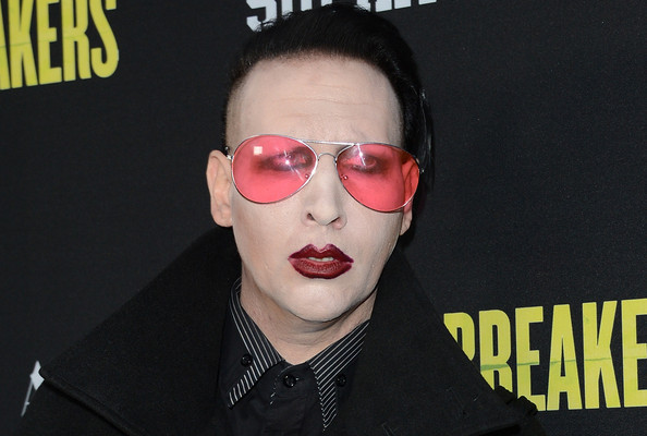 Marilyn Manson, Saint Laurent Model? Sure, Why Not