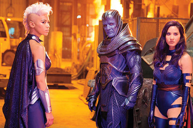 Storm, Apocalypse, More Revealed in New 'X-Men' Pictures