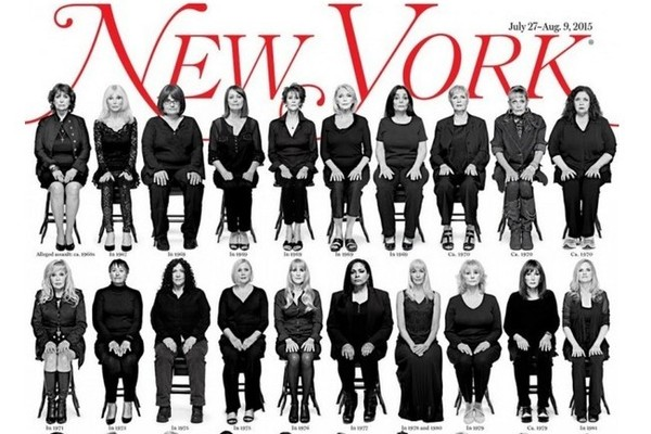 35 Bill Cosby Accusers Appear on the Cover of 'New York' Magazine
