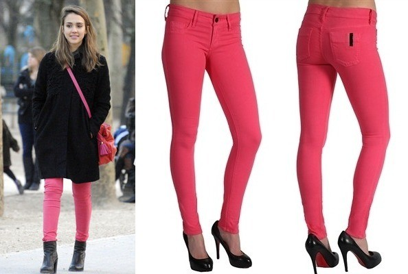 Steal Her Style: Jessica Alba's Black Orchid Jeans