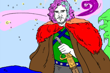Childhood and Adulthood Collide with This 'Game of Thrones' Coloring Book