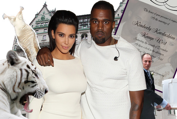 15 Things Kim & Kanye's Future Wedding Will Totally Include