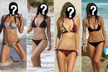 Guess the Celebrity Beach Body