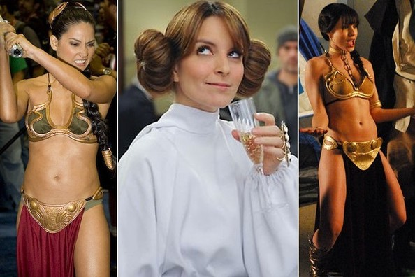 A Brief History of Famous People Dressing Up as Princess Leia
