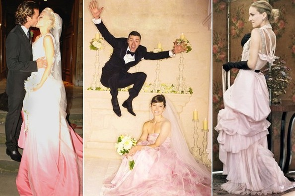 Fashion Obsession: Blushing Brides