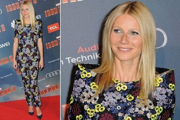 Love it or Loathe it - Gwyneth Paltrow's Head-to-Toe Florals at the 'Iron Man 3' Paris Premiere