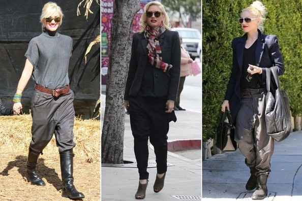 Have Gwen Stefani's Drop-Crotch Pants Gone Too Far?