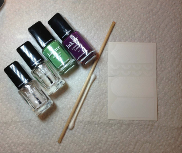 Master the Half-Moon Mani in Five Steps