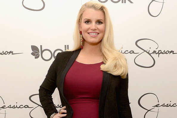 Jessica Simpson's Fab Maternity Style