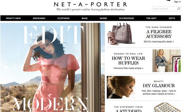 Coming Soon to Net-A-Porter: Beauty Products!
