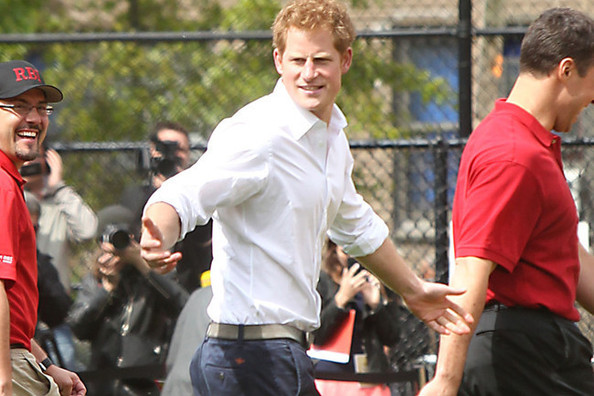 Guess What Brand Pants Prince Harry Wears?