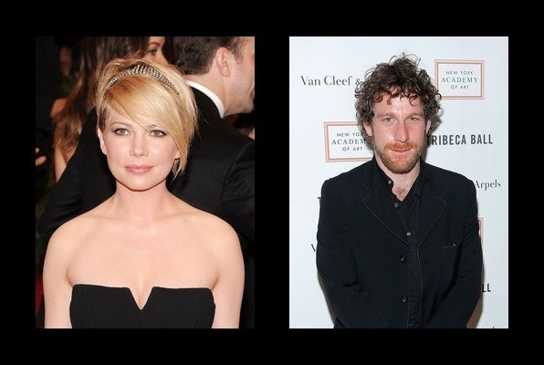 Michelle Williams is dating Dustin Yellin