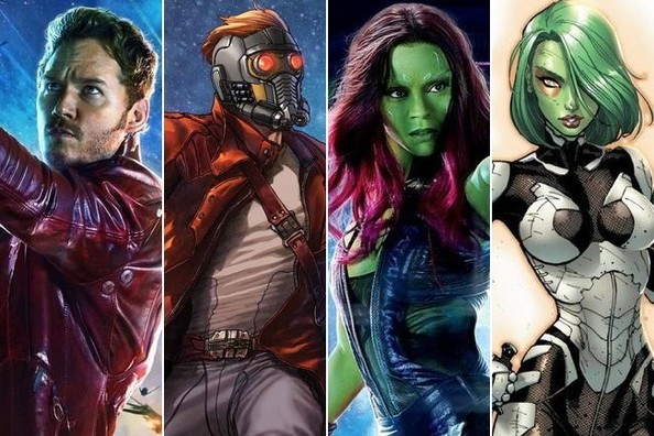 'Guardians of the Galaxy' Comic Book Back Stories