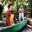Pi and Richard Parker from 'Life of Pi'