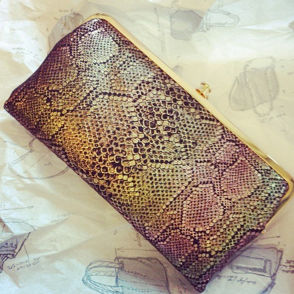 Current Obsession: Hobo's Exotic Lauren Wallet