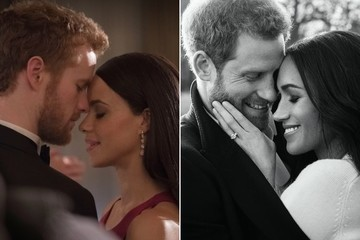The Cast Of Lifetime's 'Harry & Meghan' Vs. Their Real Royal Counterparts