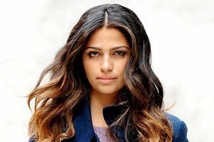 Camila Alves Sports Picture Perfect Ombré Curls
