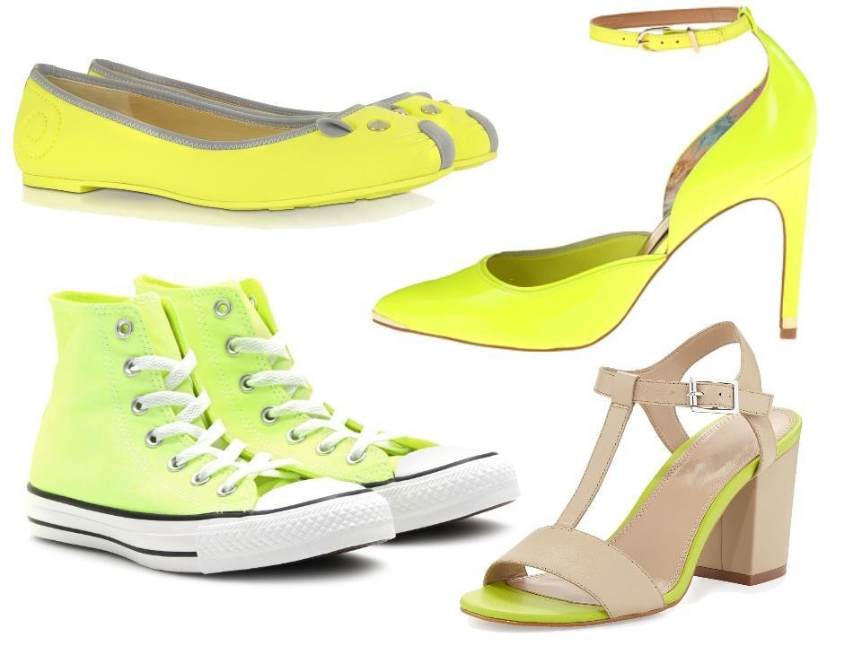Easy Outfit Upgrade: Wear Neon Yellow Shoes