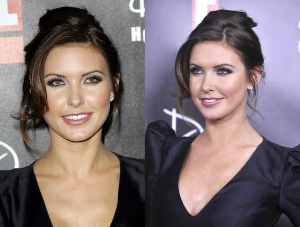 Audrina Patridge has been repping for brunettes on The Hills for a while now