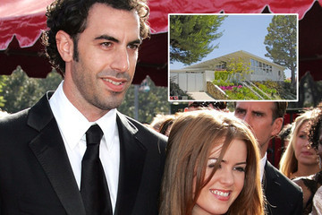 Take a Tour of Sacha Baron Cohen and Isla Fisher's Home