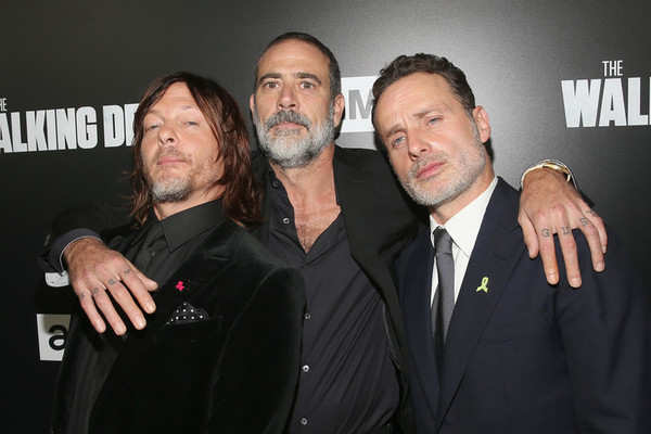 The Stars of 'The Walking Dead' Out of Costume