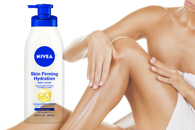 Current Obsession: Nivea Skin Firming Hydration Lotion with Q10