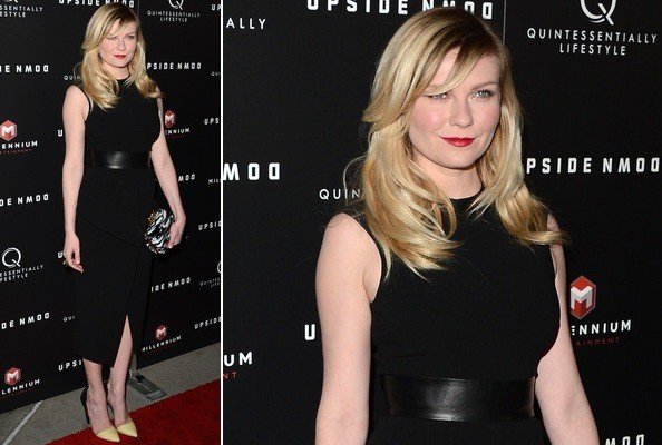 Kirsten Dunst's Fiercely Chic Little Black Dress