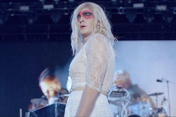 Guess Which Actor Dressed in Drag for Arcade Fire's 'We Exist' Video?