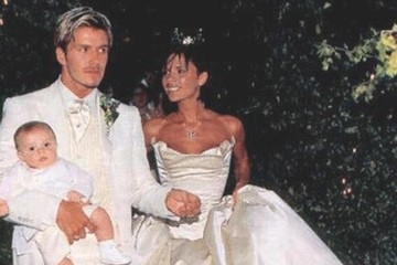 The Beckhams' Wedding Pictures Win Everything on Their 15th Anniversary