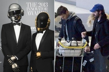 Surprise! The Daft Punk Dudes Look Like Your Average Hipsters Under Those Helmets