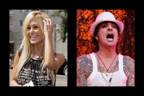 Shauna Sand dated Tommy Lee