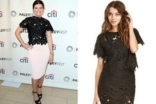 Found: Casey Wilson's Lace Top