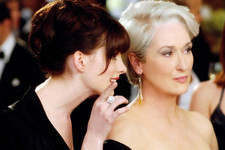 Anne Hathaway's 'The Devil Wears Prada' Tribute Kindly Reminds You Who's Boss