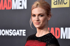 Look of the Day: January Jones' Grand Finale Gown