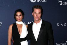 Stylish Couples: Camila Alves and Matthew McConaughey