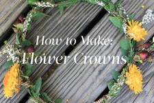 How to Make a Five-Step Flower Crown