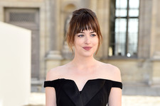Dakota Johnson Goes Glam in Paris