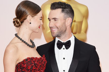 Stylish Celebrity Couples: Adam Levine and Behati Prinsloo