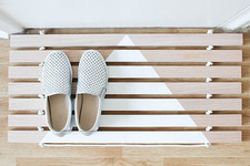 How to Make Your Own Wood Door Mat