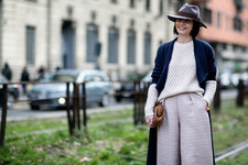 Best Street Style at Milan Fashion Week Fall 2015