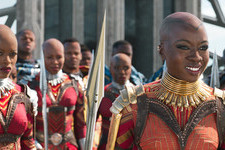 'Black Panther's Makeup Designer On Wakandan Tribal Makeup