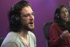 Watch Maisie Williams Adorably Call into Kit Harington's Radio Interview