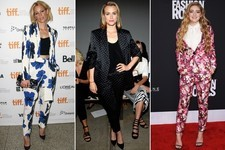 Trend to Try: Printed Pantsuits