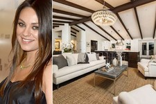 Take a Tour of Mila Kunis's Gorgeous LA Manse