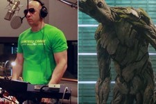 Watch Vin Diesel Record His Single 'Guardians of the Galaxy' Line Over and Over and Over and Over