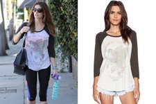 Found: Ashley Greene's Graphic Tee