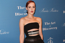 Jena Malone's Strapless Dress
